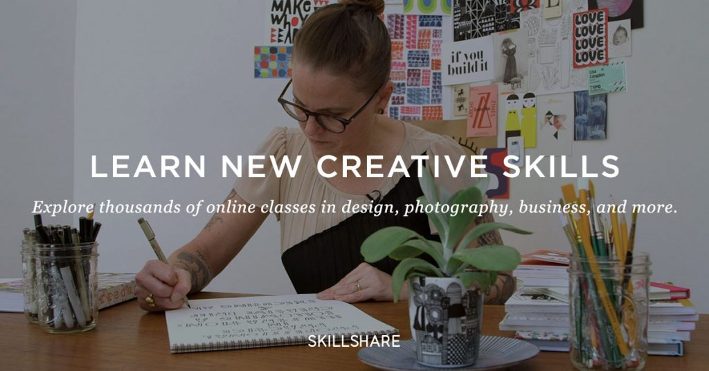 Our Partnership With Skillshare: Get a 3-Month FREE Membership