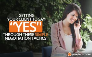Getting your clients to say yes through these simple negotiaton tactics