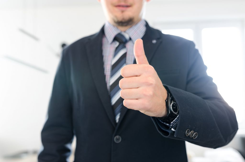 celebrate employees - thumbs up