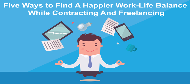 Five ways to find a happier work life balance