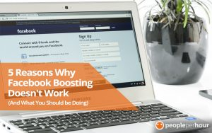 Reasons why Facebook boosting doesn't work - and what you should be doing!