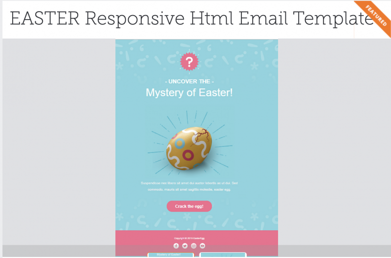 Easter Freelancer Offers for html template