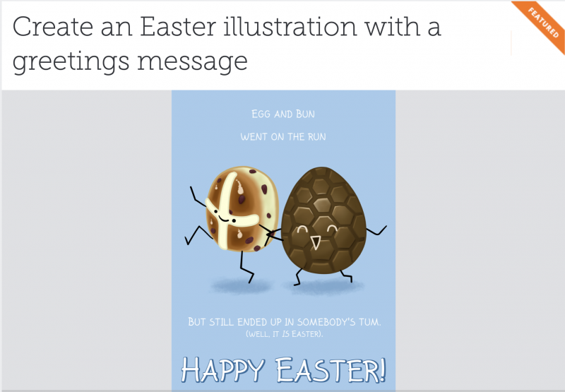 An Easter offer from a freelance illustrator