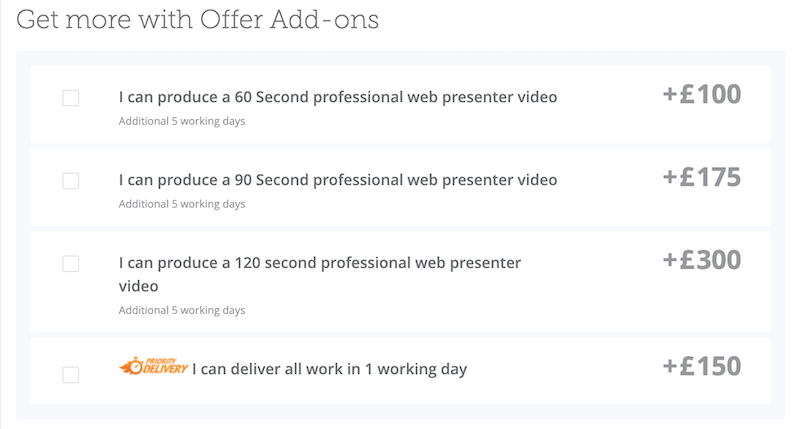 video editing offer