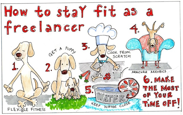 TIMEA How to stay fit as a freelancer 3