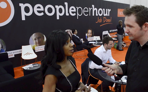 PPH at The Business Startup Show, ExCeL London, PeoplePerHour Review