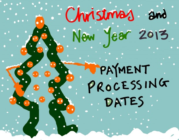 Christmas and New Year payments