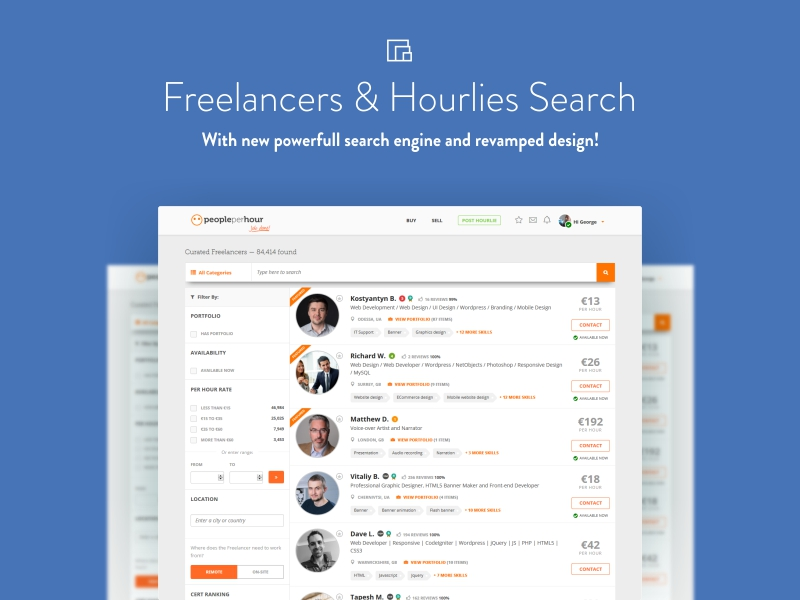 find a freelancer new design peopleperhour
