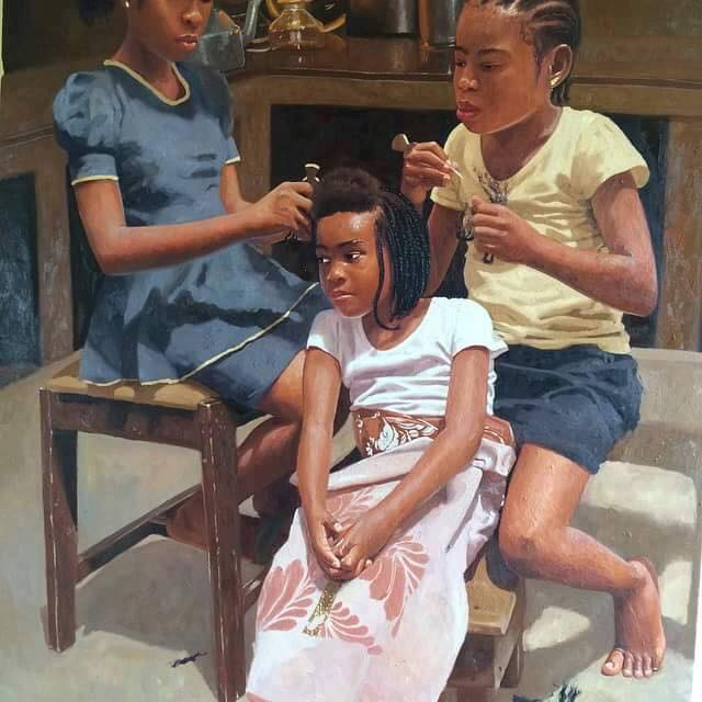 picture of girls of Africa