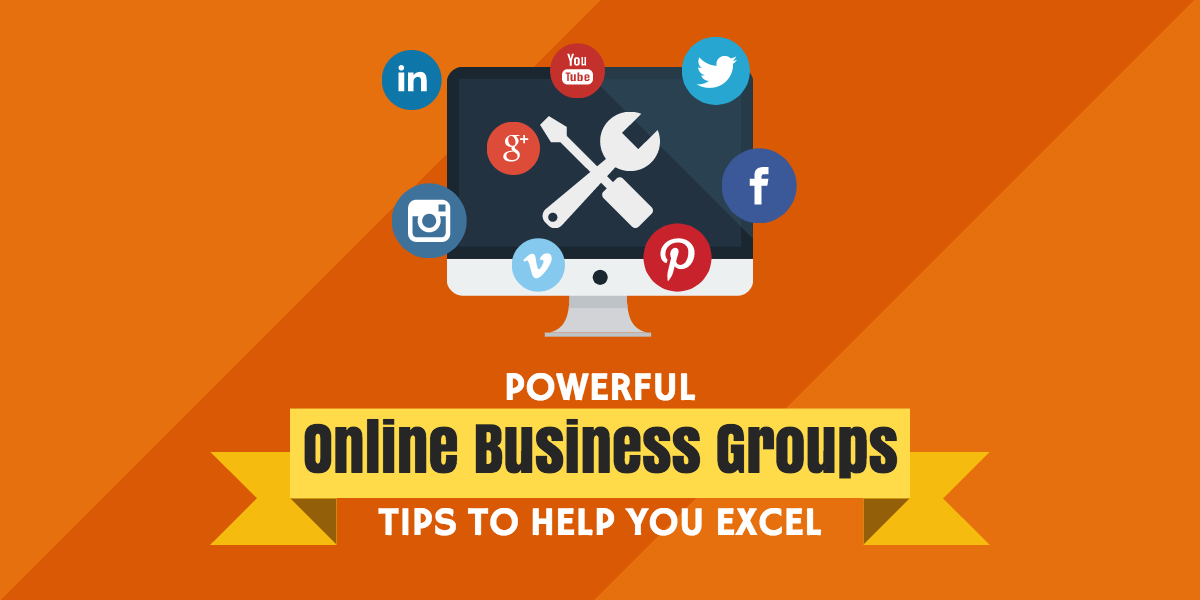 online business groups