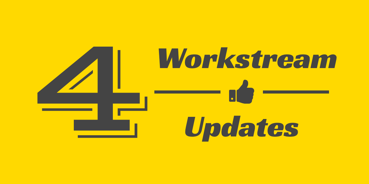 workstream updates