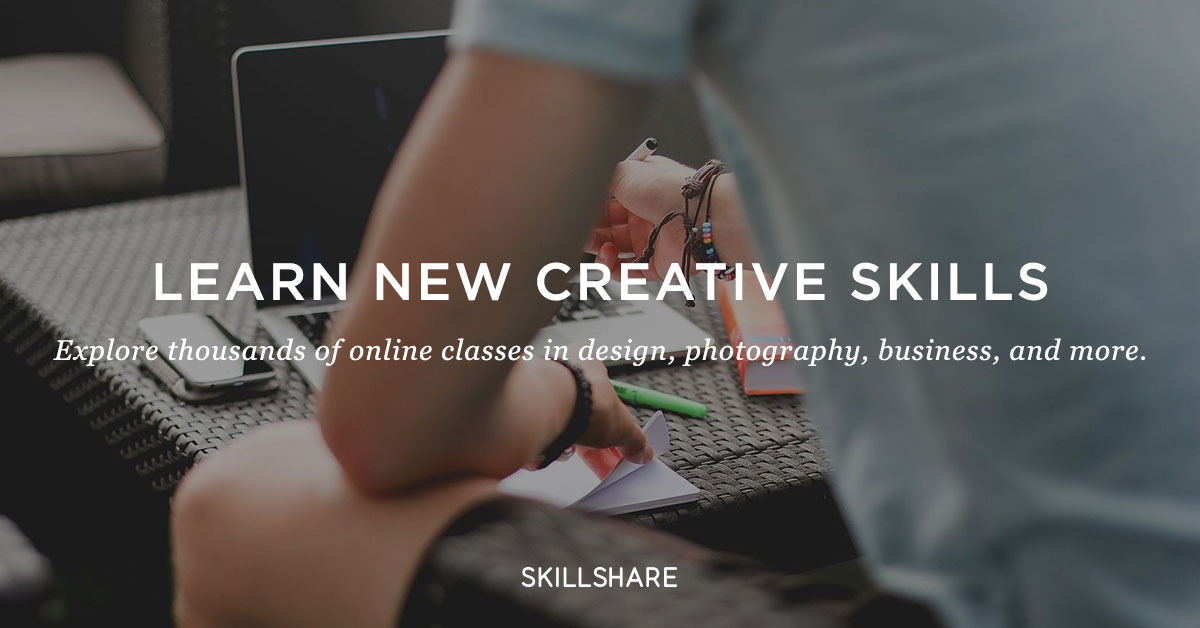 skillshare partnership