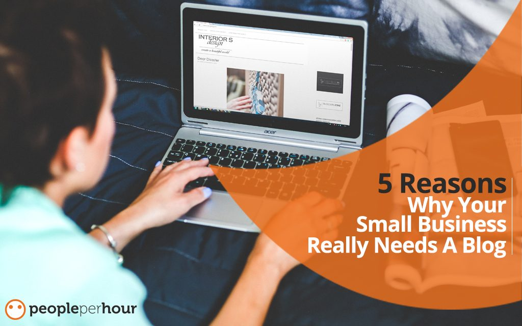 Five reasons why your small business really needs a blog