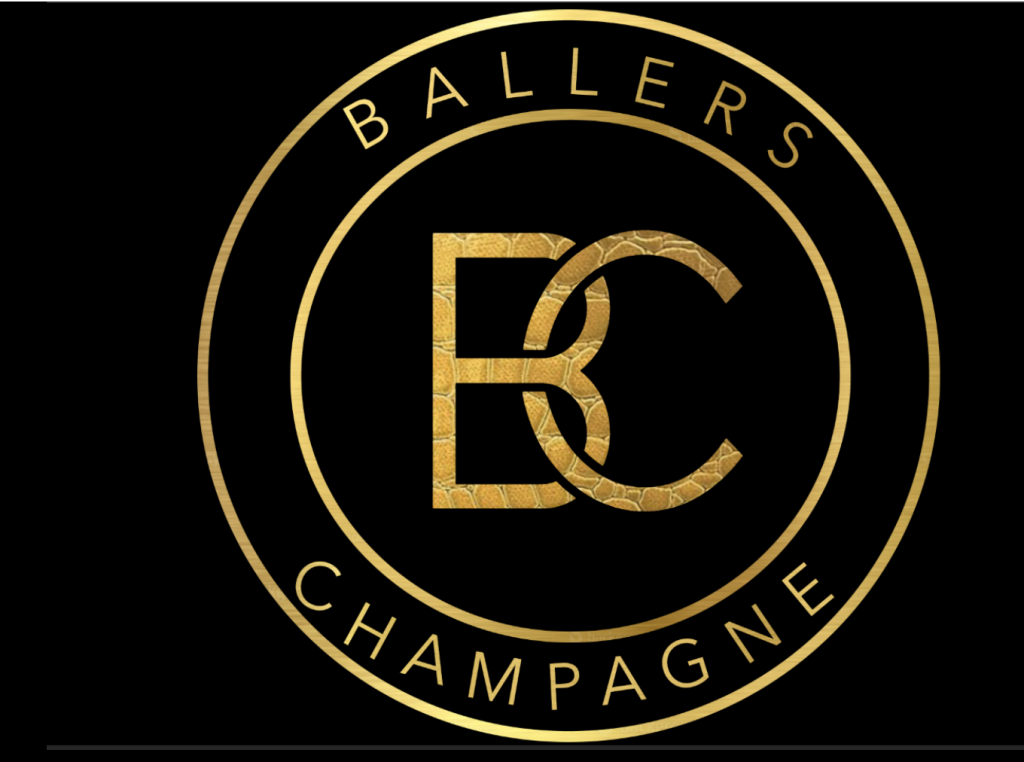 Ballers Champagne logo - by JS Design