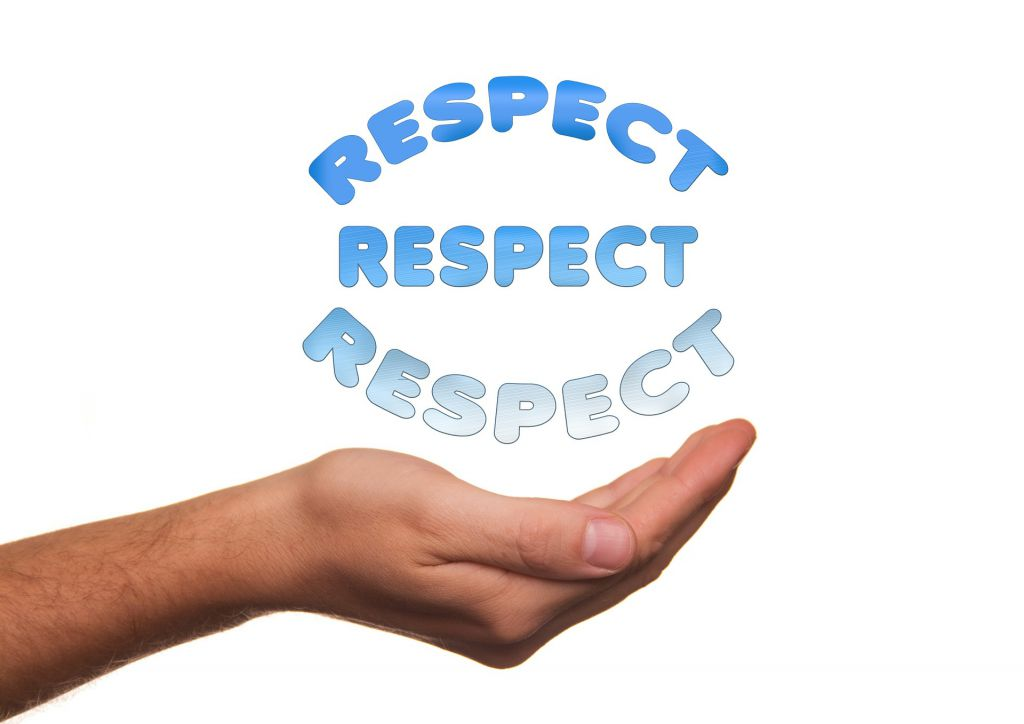 Respect - rules for online etiquette