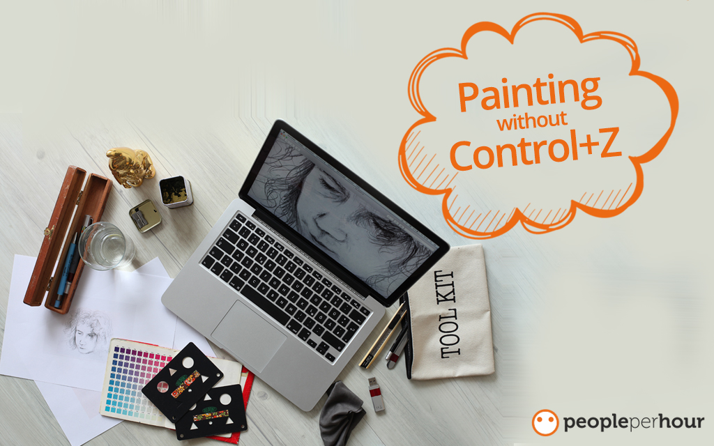 Painting without Control+Z - Guest blogger Raman
