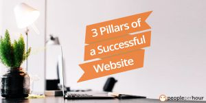 3 pillars of a successful website