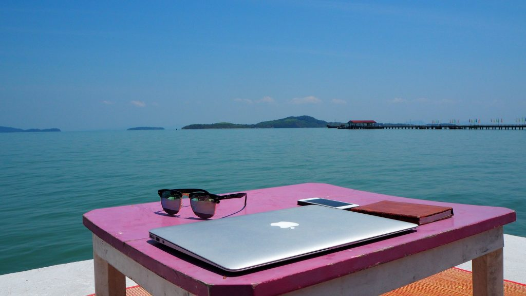 remote working - in Thailand