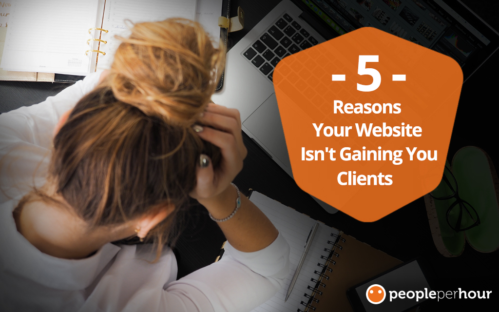 5 Reasons Your Website Isn't Gaining You Clients - Magiie Aland