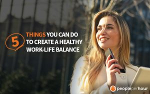5 Things You Can do to Create a Healthy Work-life Balance - Sofia Lockett