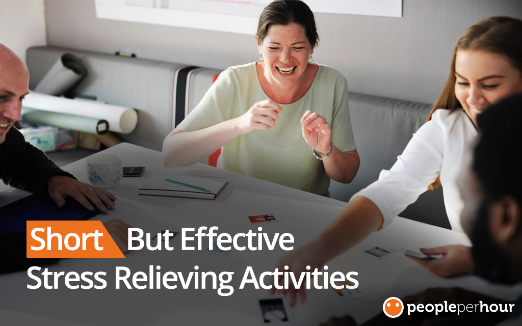Short but effective stress relieving activities - Jessica Fender